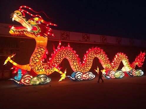 2017御和动物园鸡年大吉迎春灯会'将成为廊坊市多年来规模最大