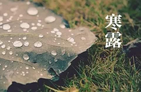 """8日22时6分""""寒露"""""""
